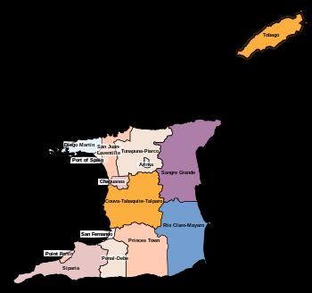 English: Regional corporations and municipalit...