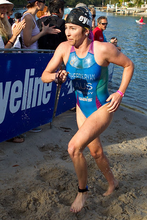 Felicity Sheedy-Ryan - 2011 Noosa Triathlon, Noosa Heads, Sunshine Coast, Queensland, Australia; 30 October 2011.