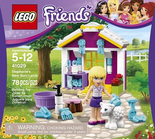 LEGO Friends Stephanie's New Born Lamb 41029