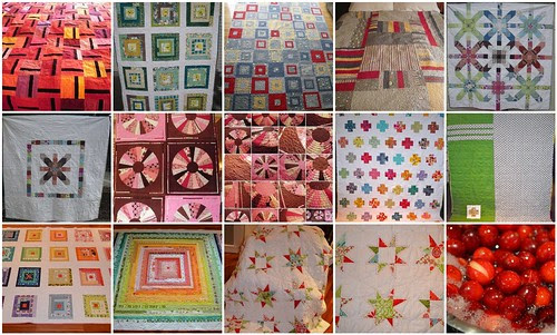 2011 - finished quilts and some of their backs