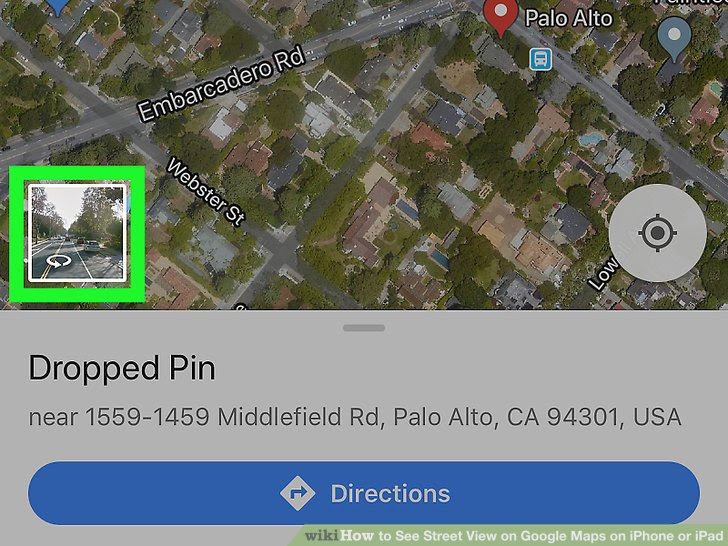 How To See Street View On Google Maps On Iphone Or Ipad 5