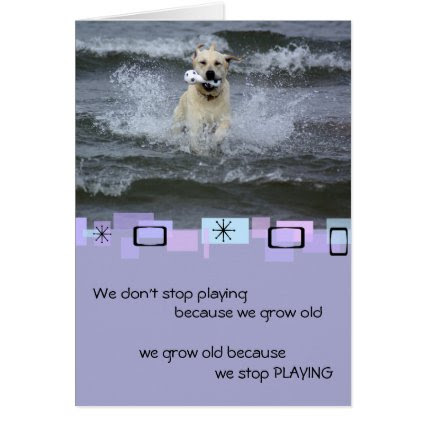 Yellow Labrador Retriever Birthday Greeting Card