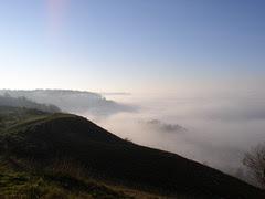 Fog over Cheltenham