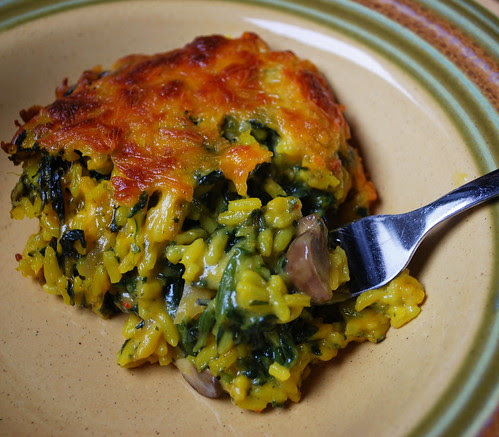 Spinach Rice Casserole CU