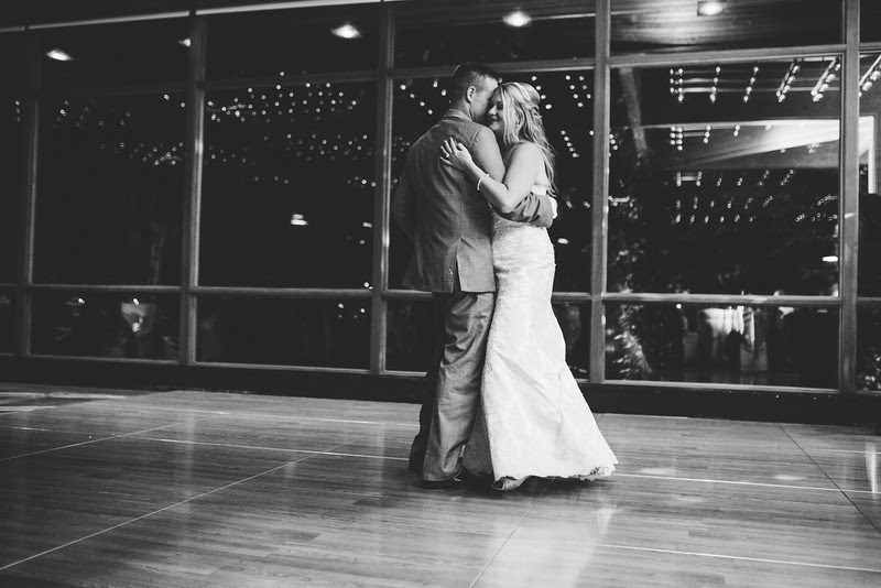 Special dances with the Bride and Groom at a reception at The Hyatt Lodge at McDonald's Campus, Oak Brook Illinois, Grand Oaks Pavillion. Photo by Mindy Joy Photography