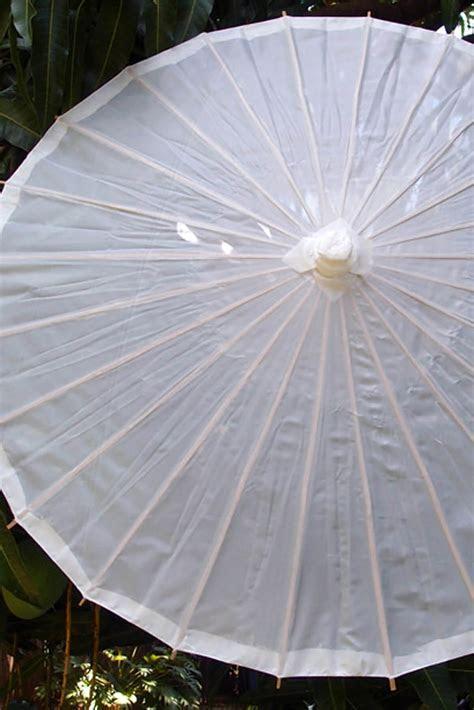 Nylon Parasol White