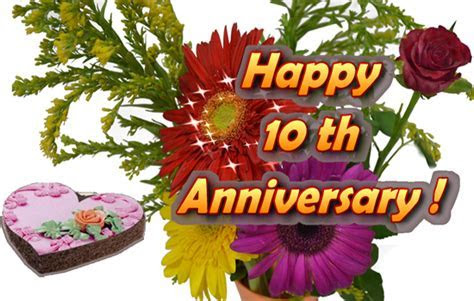 10th Happy Anniversary Wishes For Friends   www.pixshark