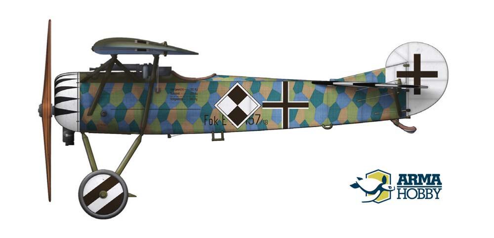 Fokker E.V Jasta 6 Wolff III