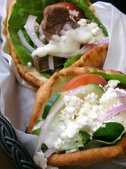 Beef & Lamb Gyro and Feta