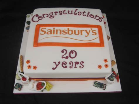 Anniversary cake from Cakes For All UK