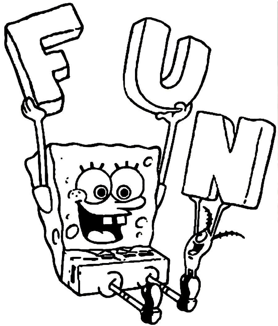 Belajar Mewarnai Gambar Untuk Anak Anak Pada Spongebob Auto