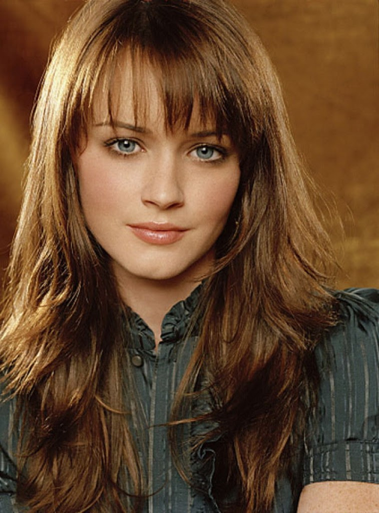 Effortless and Elegant Long Layered Haircuts with Bangs - Ohh My My