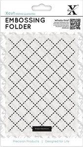 DoCrafts QUILTING XCut Embossing Folder 515129