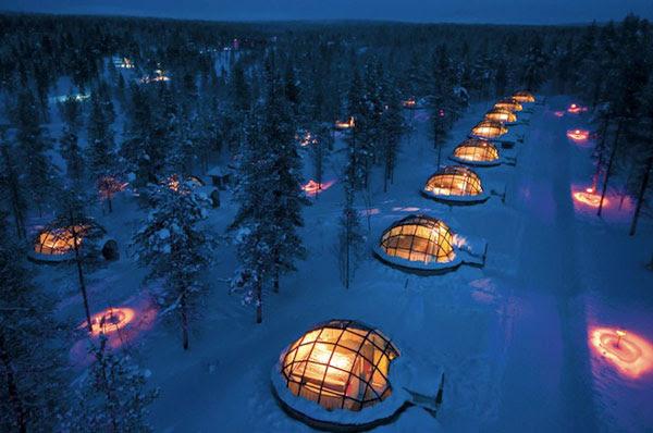 perierga.gr - Για πραγματικές χειμερινές διακοπές, κοιμηθείτε σε ένα... ιγκλού!