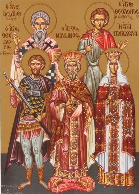 IMG ST. PULCHERIA the Queen