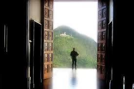 abrir la puerta