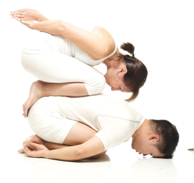 Simple Yoga Poses For Two People