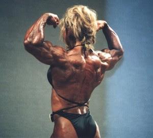 Female Muscle Slave July 2012
