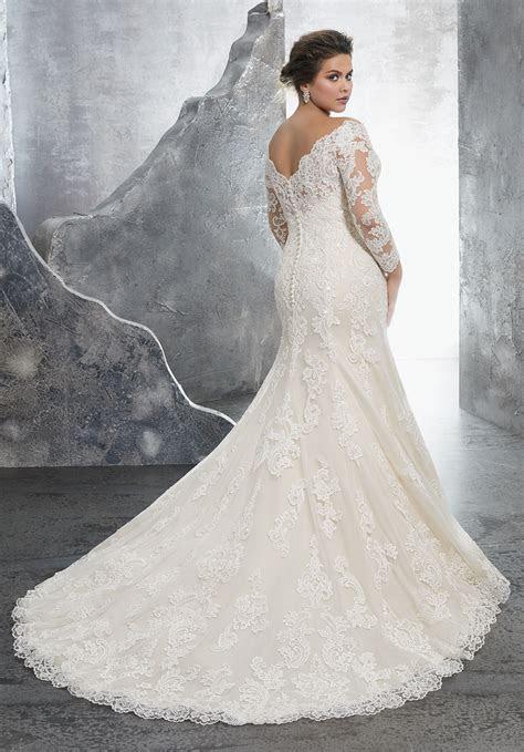 Kameron Plus Size Wedding Dress   Style 3231   Morilee