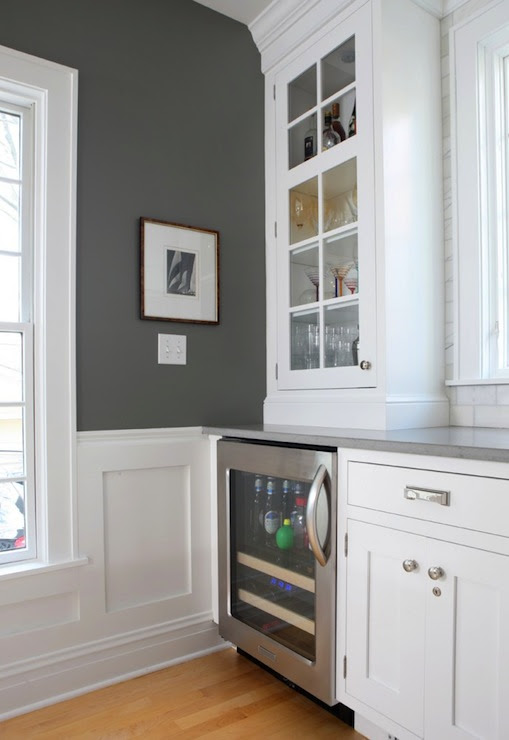 Charcoal Gray Paint Color - Contemporary - kitchen - Benjamin ...