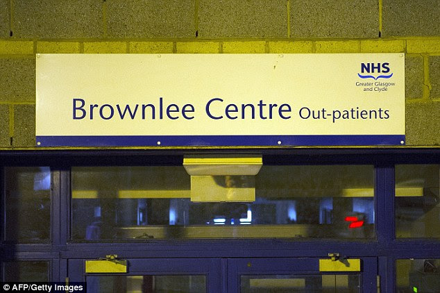 The ebola patient is being treated at the specialist Brownlee Unit for Infectious Diseases at Gartnavel Hospital
