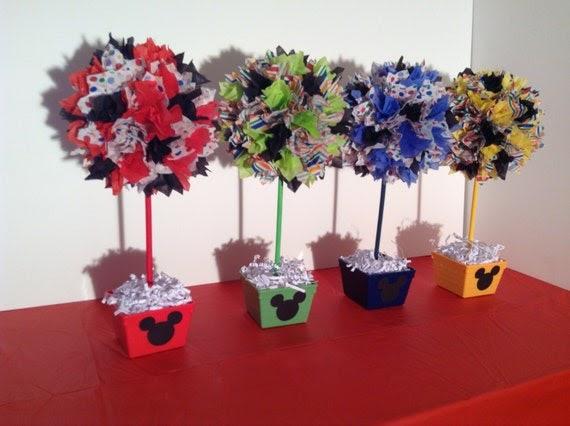 AlishaKayDesigns: Mickey Mouse Birthday Party Decorations