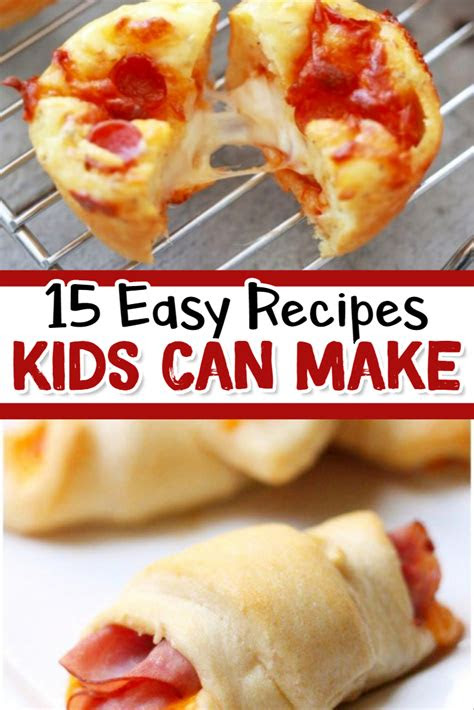 fun easy recipes  kids   involvery