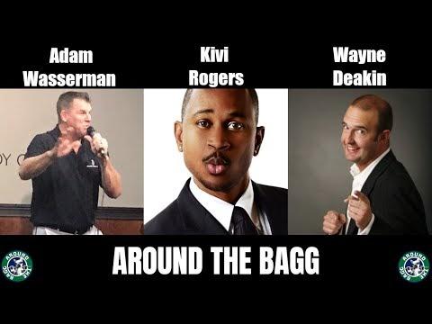 Adam Wasserman, Kivi Rogers, and Wayne Deakin - Around the Bagg Comedy Show