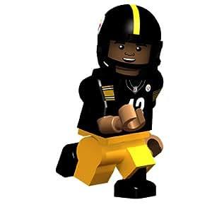 Amazon.com: Troy Polamalu NFL Oyo Mini Figure Lego Compatible Pittsburgh Steelers: Toys Games