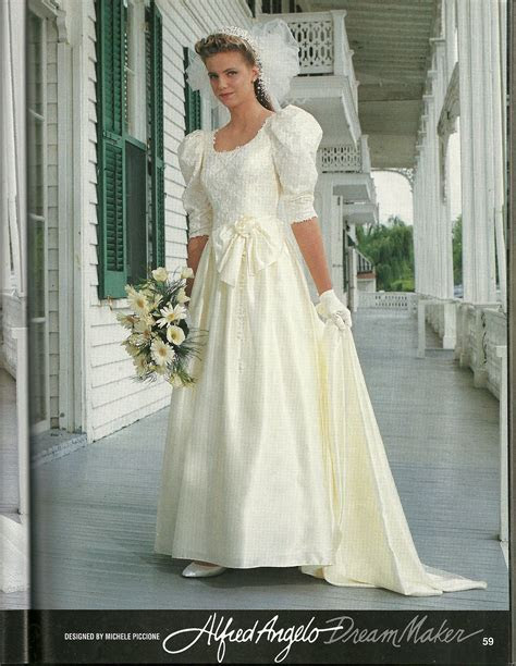 We sold a lot of this style at THe Bride's SHoppe in the