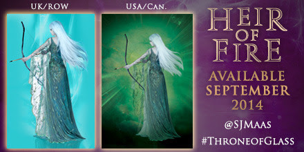 behindthebloom:  We're so excited to reveal the back cover of HEIR OF FIRE!  I'm 1000% obsessed with this back cover.