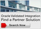 Oracle Validated Integrations