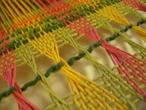 Leno weave closeup