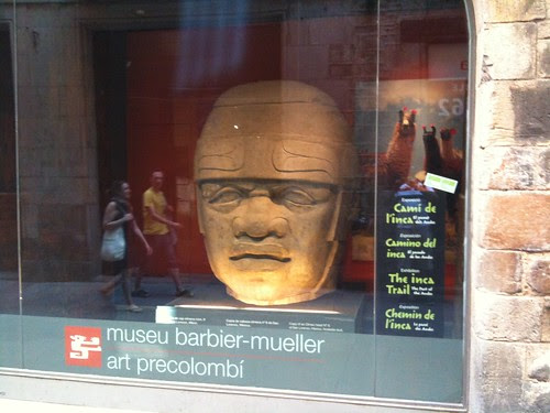 Olmec head, Museu Barbier-Müller