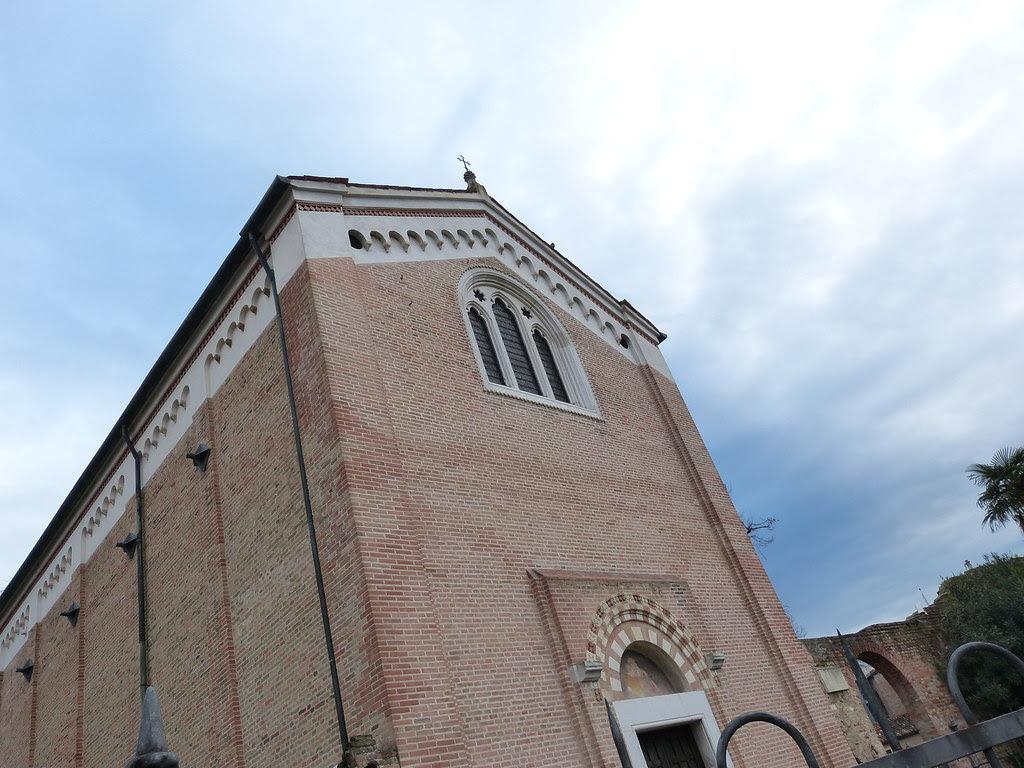 Cappella degli Scrovegni from the outside, Padova