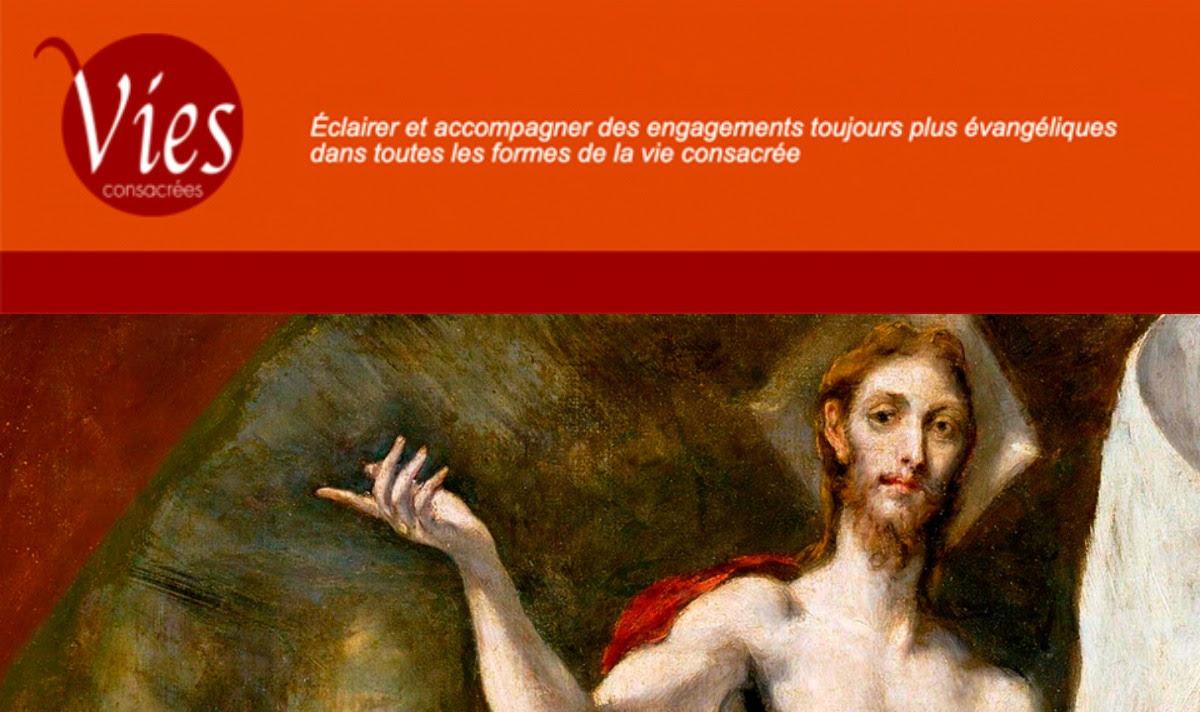 """Un tout nouveau site pour la revue """"Vies consacrées"""""""