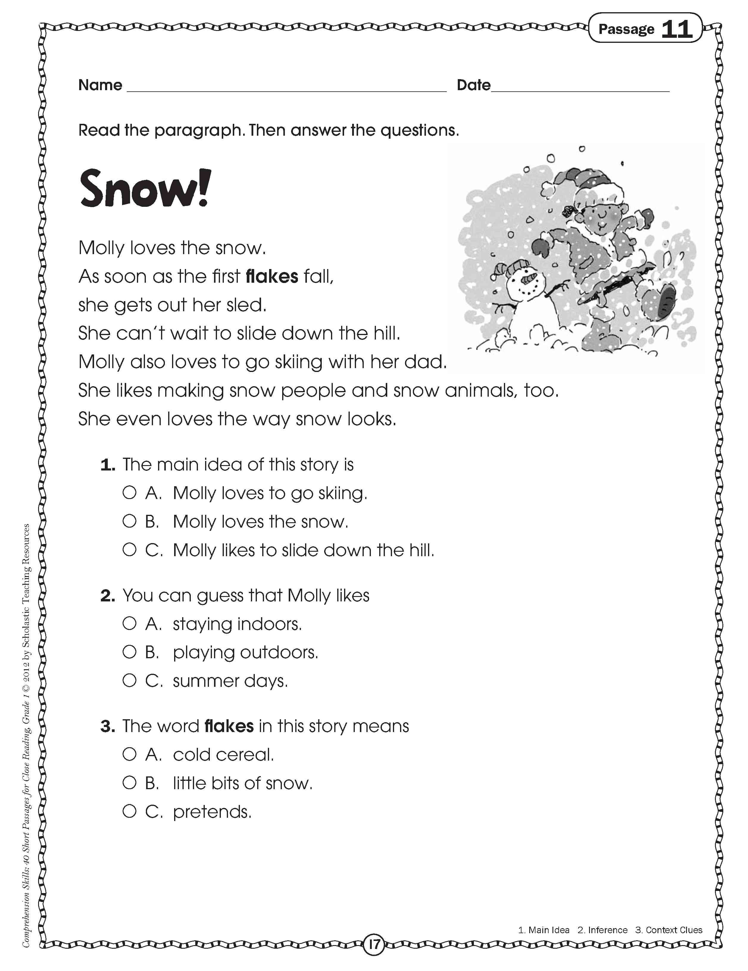 17 Best Of Close Reading Worksheets Free