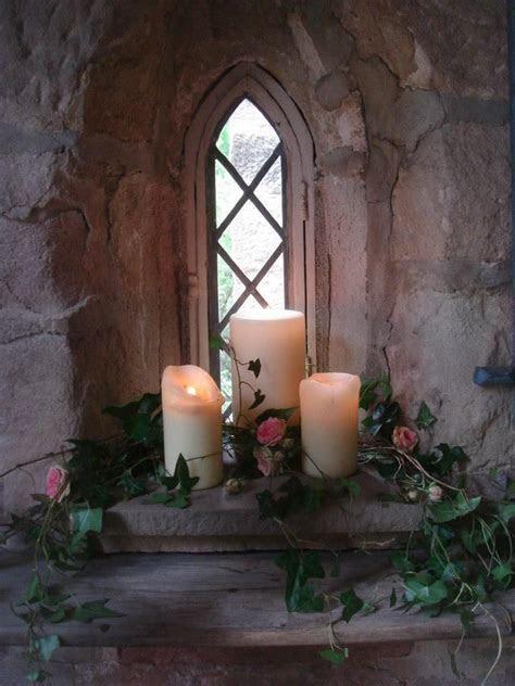 church window decoration for wedding   Autumn Wedding