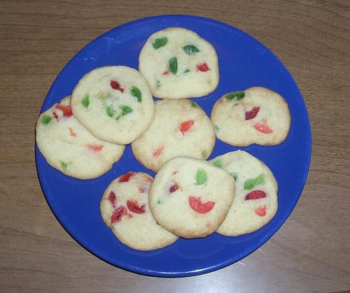 Cherry Ice Box Cookies