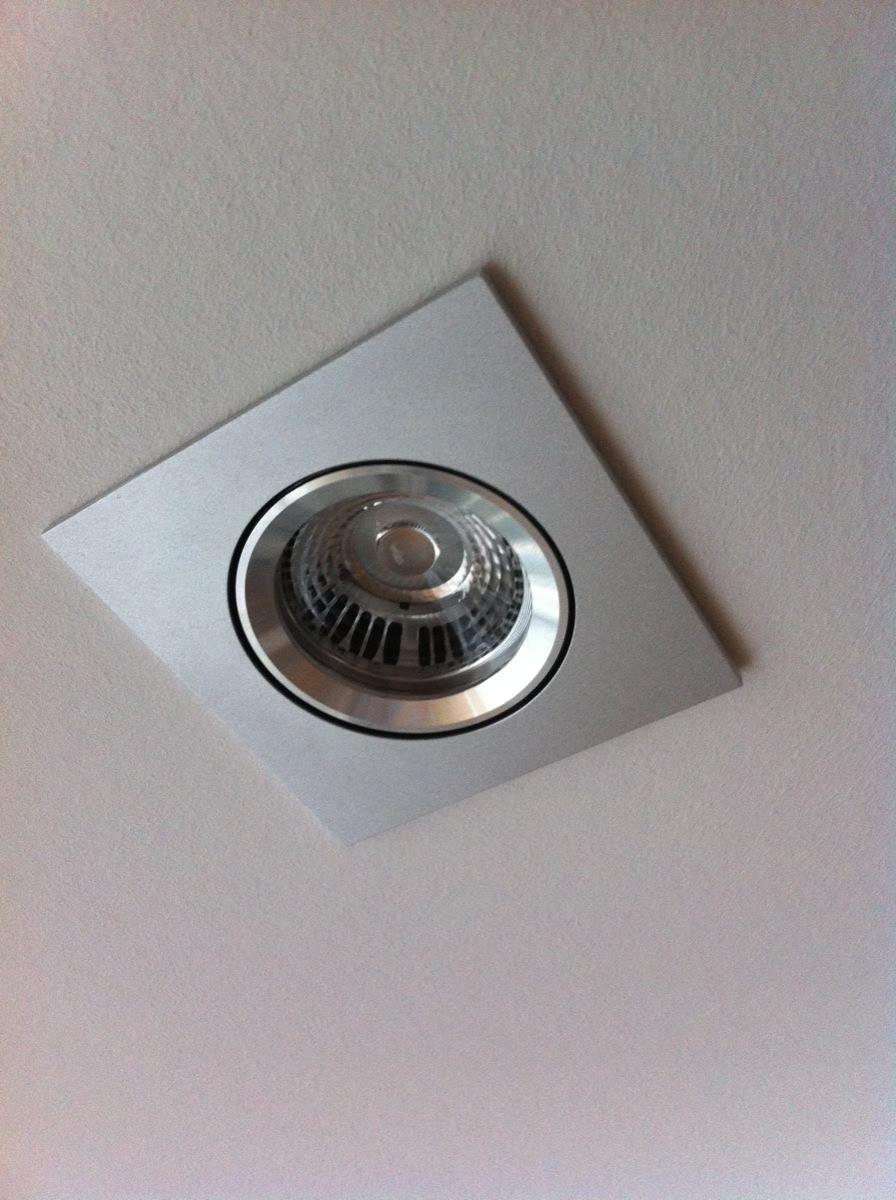 LED Lampe fertig eingebaut - 1