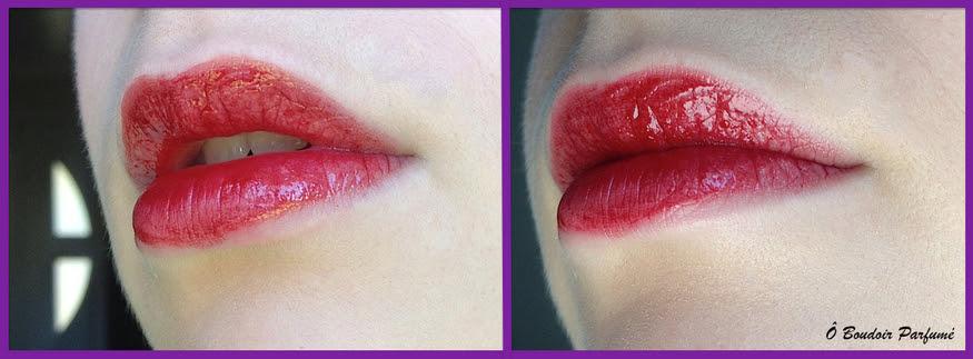 Des lèvres infusées de couleur pendant des heures...l'Oréal l'a fait !