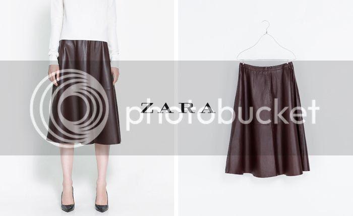 Falda Capa Zara