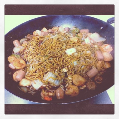 Hokkien Mee!  (Taken with instagram)