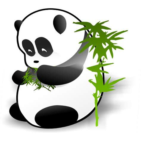 giant panda icon panda dock icons softiconscom