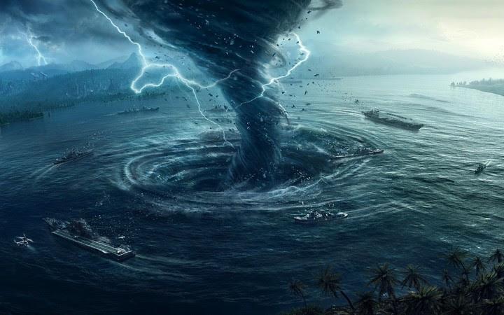 Image result for TORNADO IN OCEAN