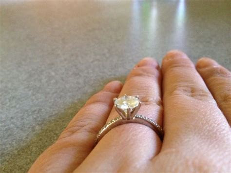 6 Prong Solitaire Rings!!!!! Need to see side views!!!!!