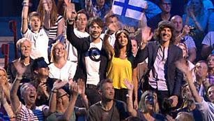 Ver vídeo  'ESDM, en el Malmö Arena durante la segunda semifinal de Eurovisión 2013'