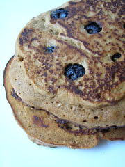 gingerbread-blueberry pancakes 2