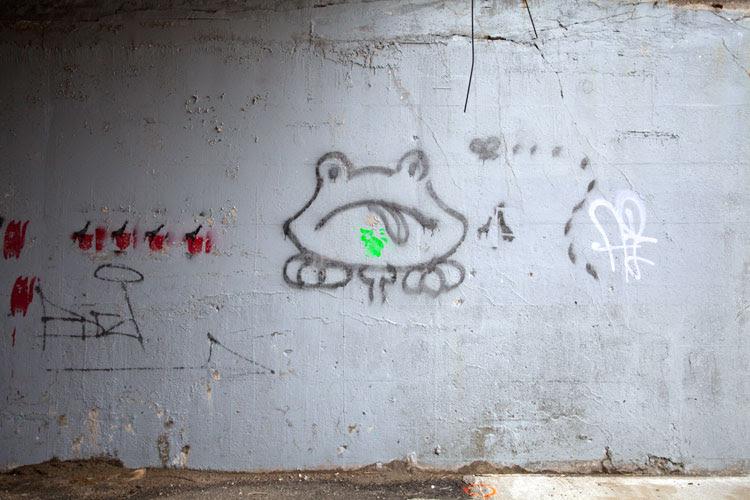 Graffiti Word Bad