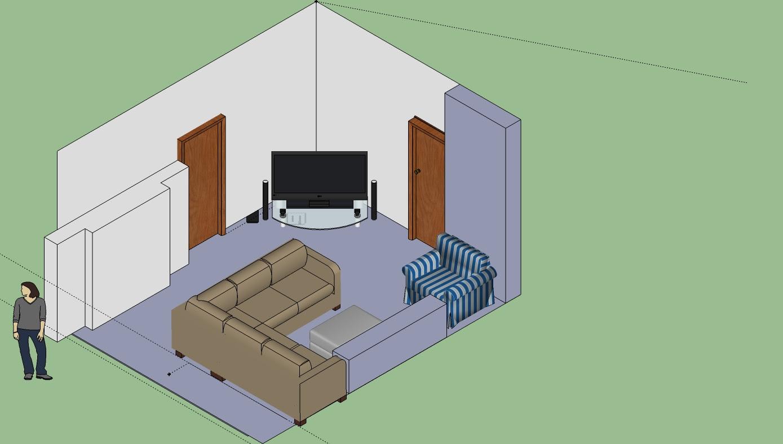Furniture Arrangement (floor plan included) (fireplace ...